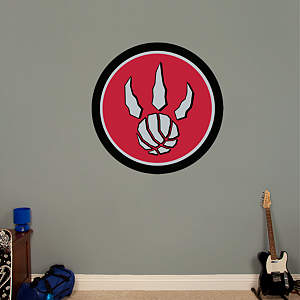 Toronto Raptors Alternate Logo Fathead Wall Decal
